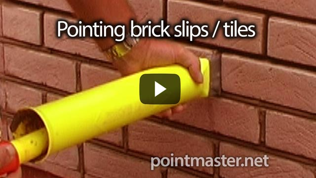 Visit the pointing brick slips and brick tiles video page