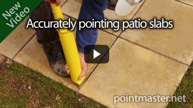 click the link to visit our page showing pointing paving slabs and patios